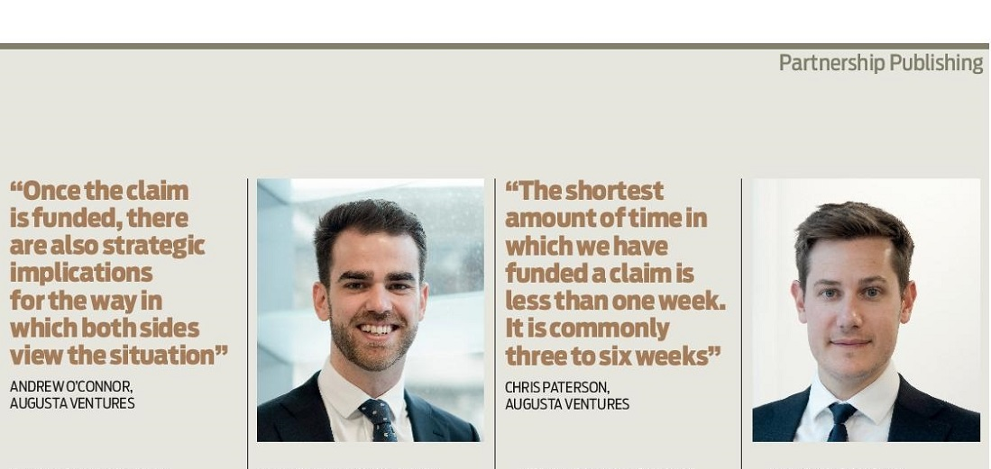 Construction and infrastructure investment managers Andrew O'Connor and Chris Paterson in extract of article in the Construction news